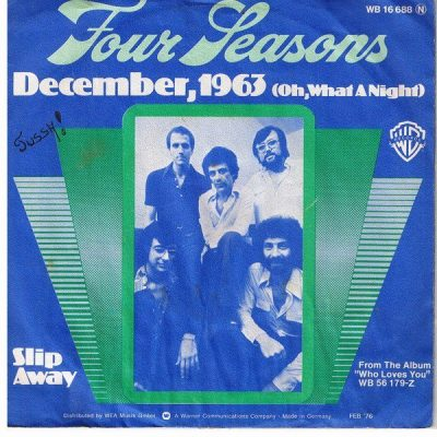 December, 1963 (Oh, What a Night) Artwork